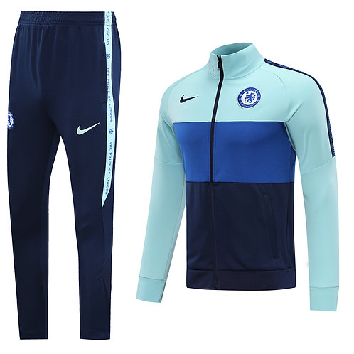 Chelsea light blue Tracksuit 2020/2021