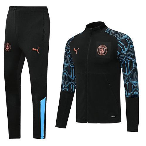 Manchester City black Tracksuit 2020/2021