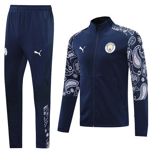 Manchester City blue Tracksuit 2020/2021