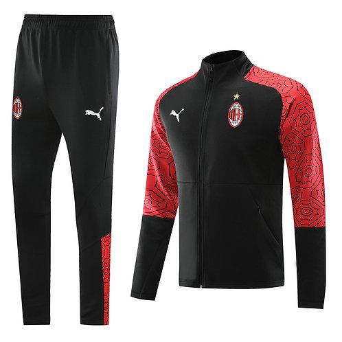 AC Milan black Tracksuit 2020/2021