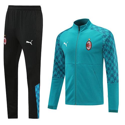 AC Milan blue Tracksuit 2020/2021