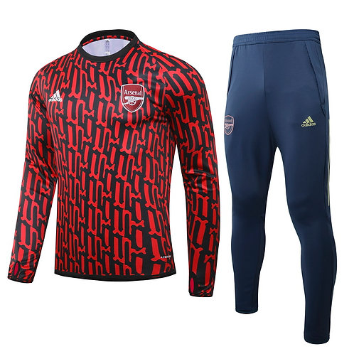 Arsenal Red Training Tracksuit 2020/2021