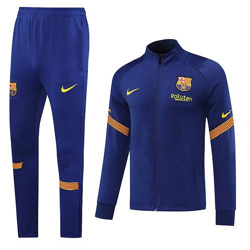 Barcelona blue Tracksuit 2020/2021