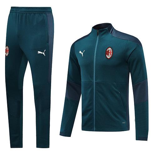 AC Milan green Tracksuit 2020/2021