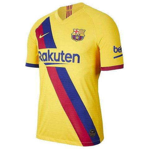 Fc Barcelona Away Kit Jersey Yellow 2019 2020 Socball