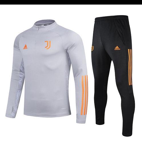 Juventus Grey Training Tracksuit 2020/2021