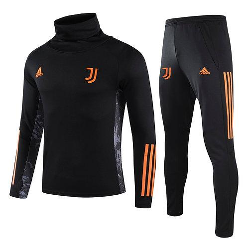 Juventus Black Training Tracksuit 2020/2021