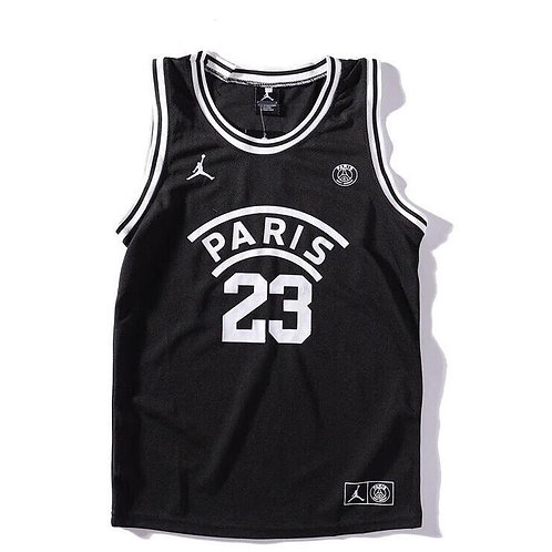 Jordan x PSG Paris Saint Germain Basketball Jersey Black 2019/2020 | Socball