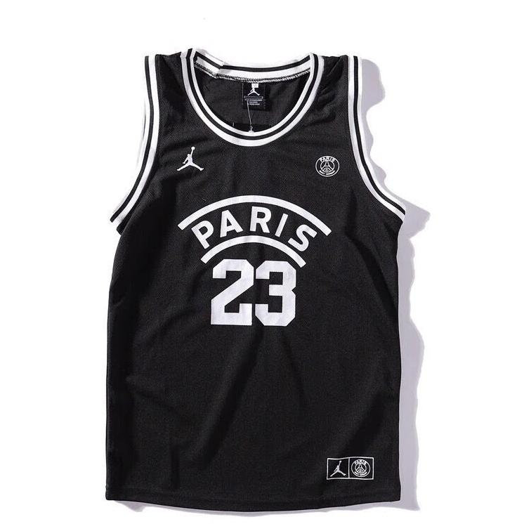 Jordan X Psg Paris Saint Germain Basketball Jersey Black 2019 2020 Socball