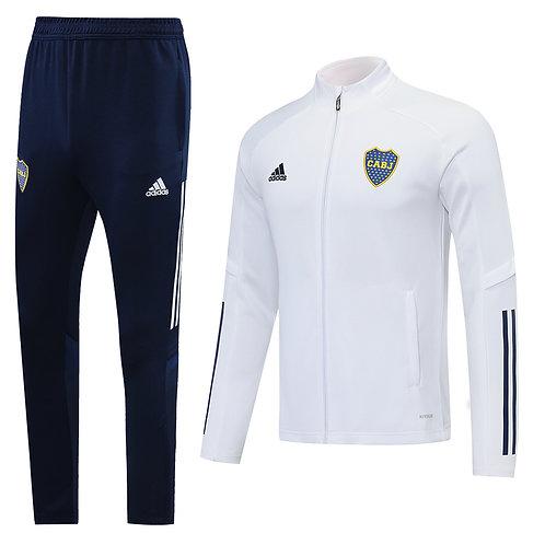 Boca Juniors white Tracksuit 2020/2021