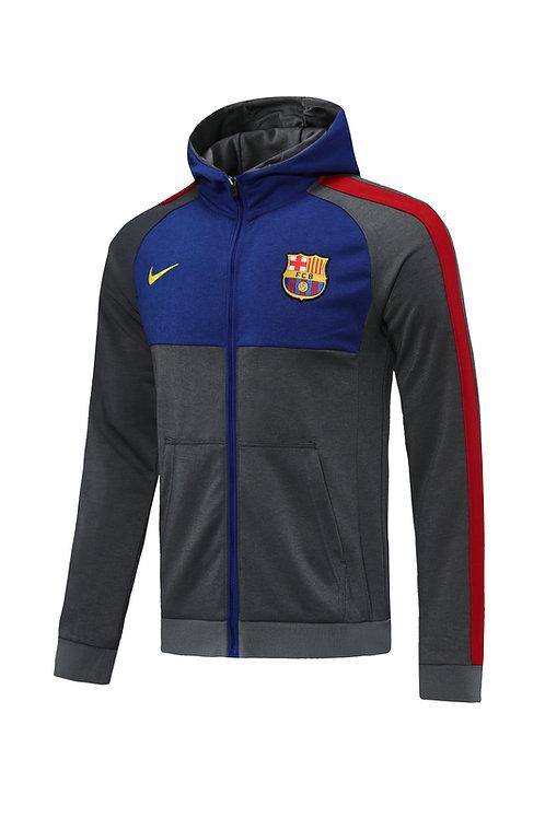 Barcelona grey Hoodie 2020/2021