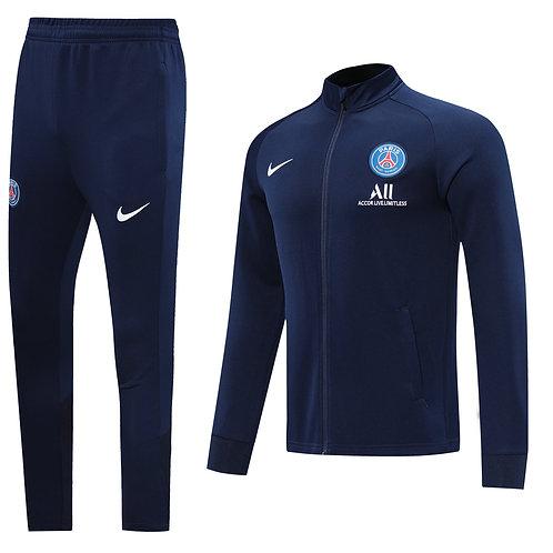 PSG Paris Saint Germain blue Tracksuit 2020/2021