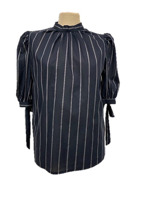 Camicia manica corta con fiocchi