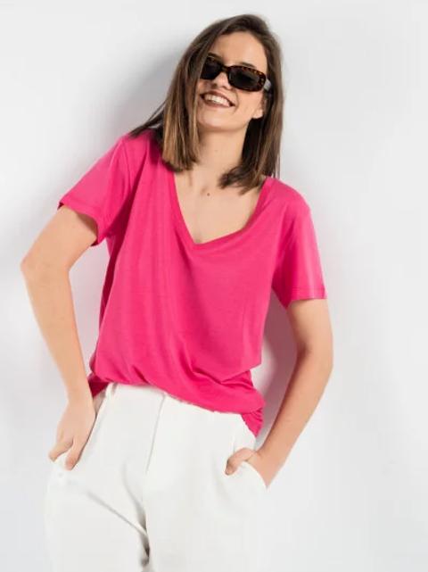 T-shirt Basica scollo V