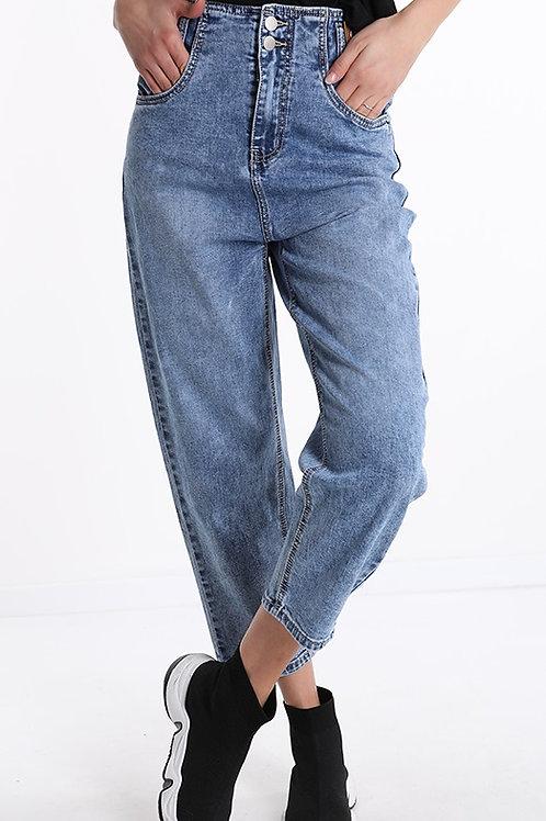 Jeans mum fit - push up