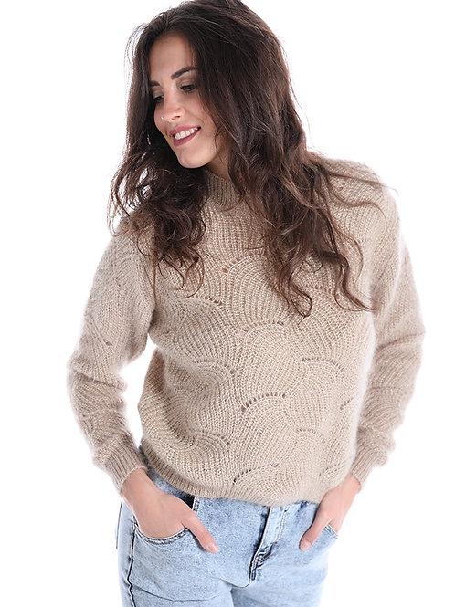 Maglione in misto lana - mohair