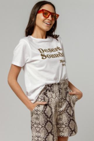 T-shirt girocollo stampa DesertSounds