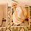Thumbnail: Bracciale catena charms metallo dorato