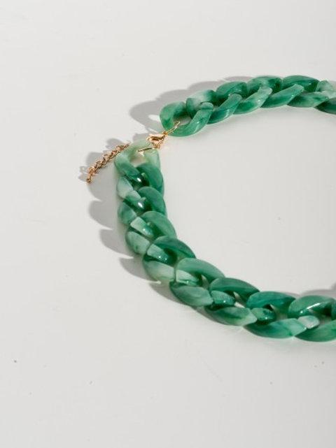 Collana catena Verde