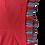 Thumbnail: T-shirt  frangine multicolore