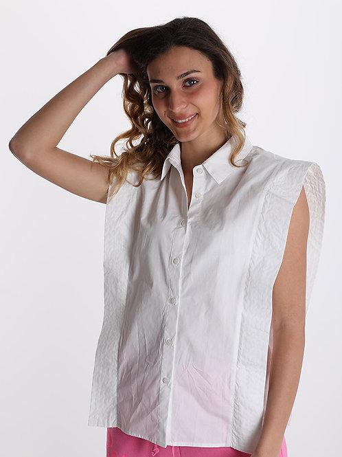 Camicia  con colletto e aletta laterale