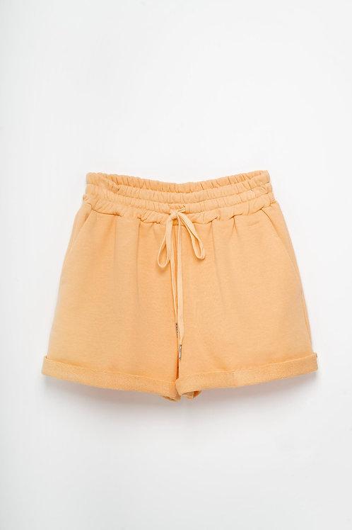 Pantaloncino in felpa con coulisse