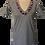 Thumbnail: T-shirt scollo V con passamaneria