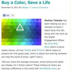 I Heart Daily Blog Posts