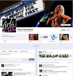 GIRLS WHO ROCK Facebook