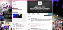 GIRLS WHO ROCK Twitter
