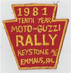 1981 keystone MC Patch e-bay