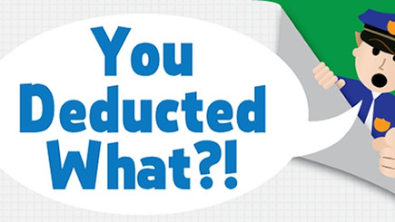 HOW CAN I IMPROVE MY DEDUCTION DOCUMENTATION?