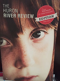 cover of Huron River Review - containing Julie Mariouw's poetry