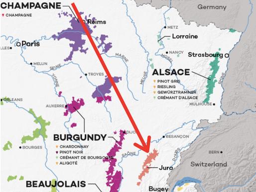 侏羅(Jura)- 從不為人知到炙手可熱的法國產區