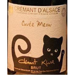 Vins Clément Klur Cuvée Meow, Crémant d'Alsace NV