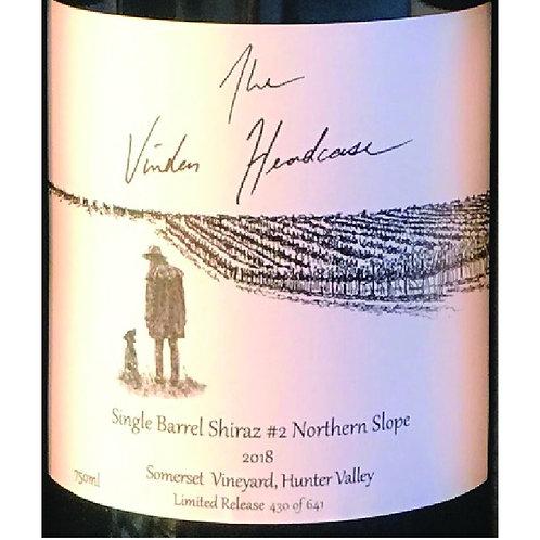 Vinden Estate Headcase Somerset Vineyard Single Barrel Shiraz #2 Northern Slope