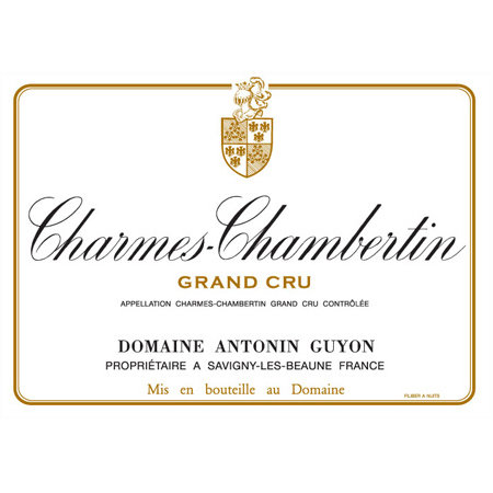 Antonin Guyon Charmes Chambertin Grand Cru 2013