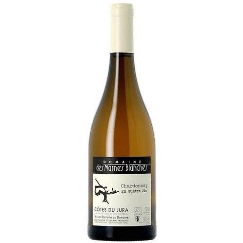 Domaine des Marnes Blanches Chardonnay En Quatre Vis AOC Jura 2018