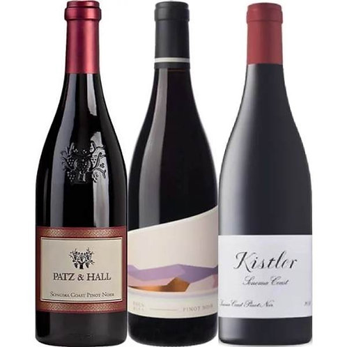 California Pinot Noir Pack of 3