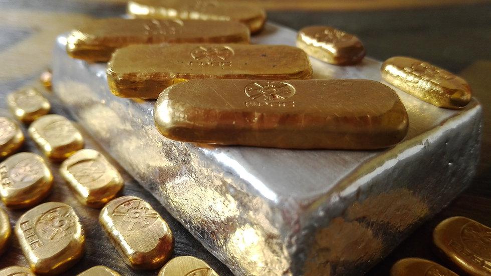 1oz - 999 FINE GOLD BULLION
