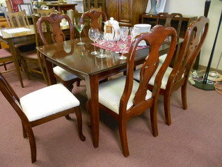 Dining Table w/6chair