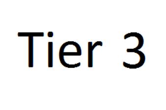Tier 3 Grant Application