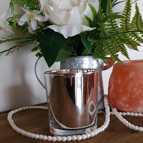Special Edition Metallic Silver & Rose Gold Soy Scented 300g