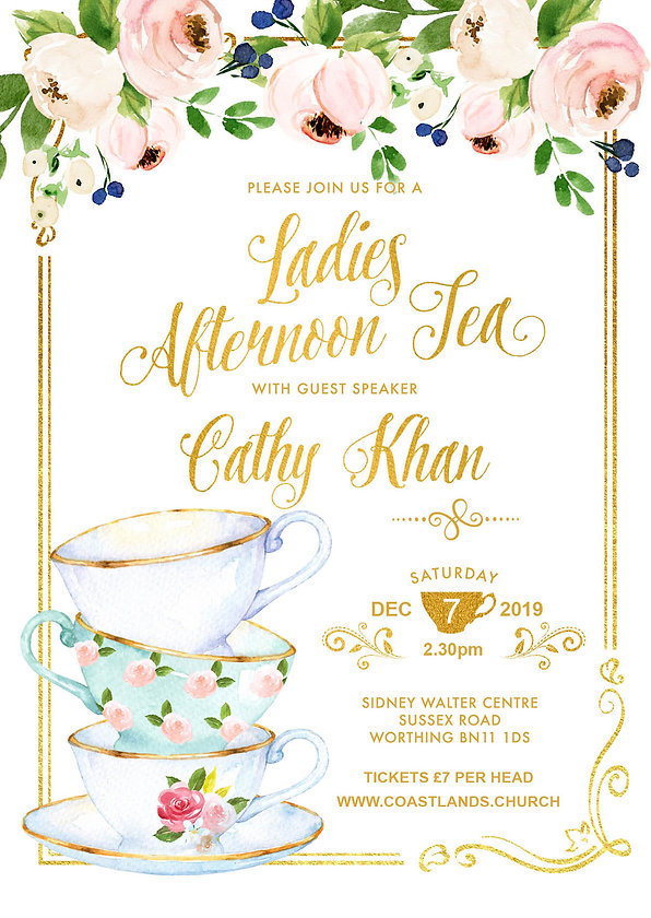 Ladies Afternoon Tea - 2019-12-07 - flye
