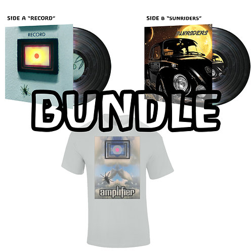 Record + Sunriders Vinyl + Tee Bundle
