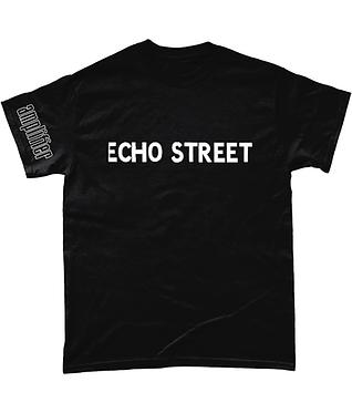 "Amplifier ""Echo Street"" Tee - with sleeve print"
