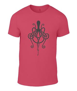 Amplifier Octopus Logo - Tee Shirt
