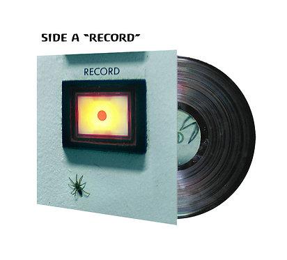 Record + Sunriders - Split 180g Black Vinyl