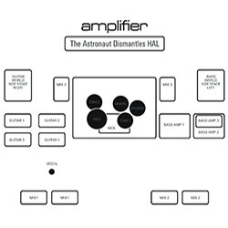 "Amplifier - ""The Astronaut Dismantles HAL"" (2005) - CD Wallet"