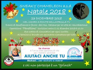 """Amichevoli di beneficenza """"Isola che c'e"""" 16/12/18 e """"Lotta al neuroblastoma&quot"""